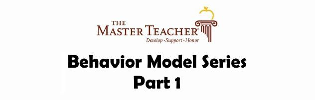 Behavior Model Part I: Three Variables
