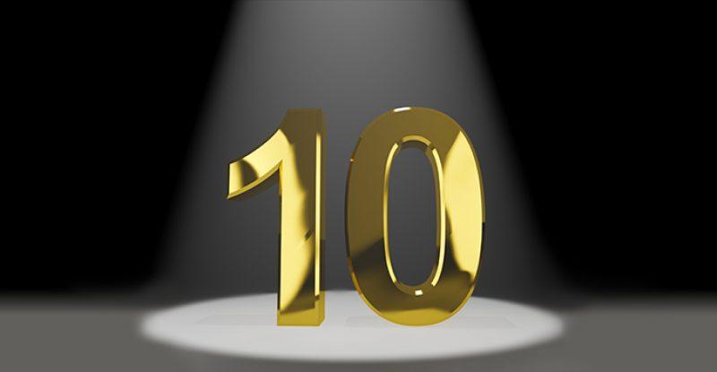 10 - Gold