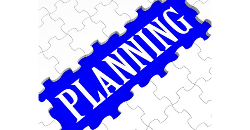 Planning Puzzle Showing Intention and Goals